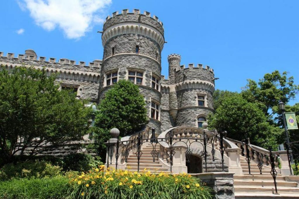 Exterior of Grey Towers Castle