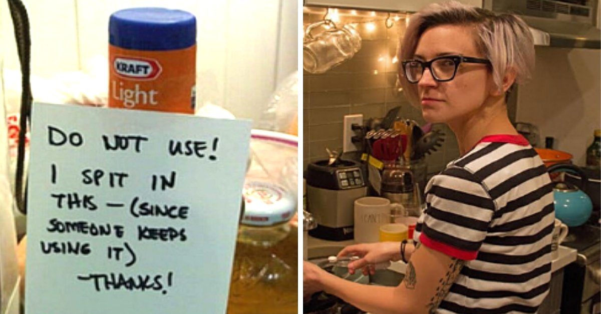 These Roommates Take Passive Aggressive To a New Level