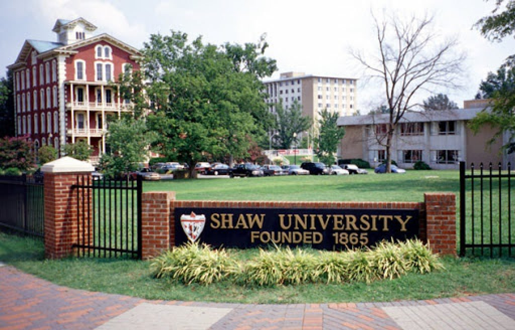Front of Shaw University