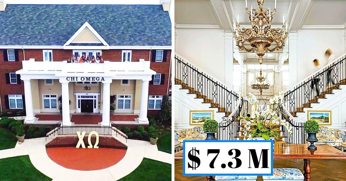 The most expensive sorority houses in America