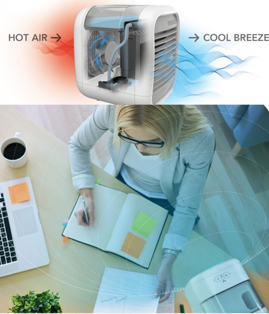 Homedics airpurifier for small spaces