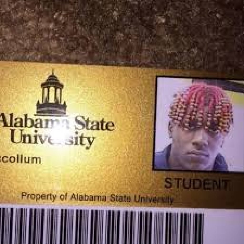 Lil Yachty's student ID card