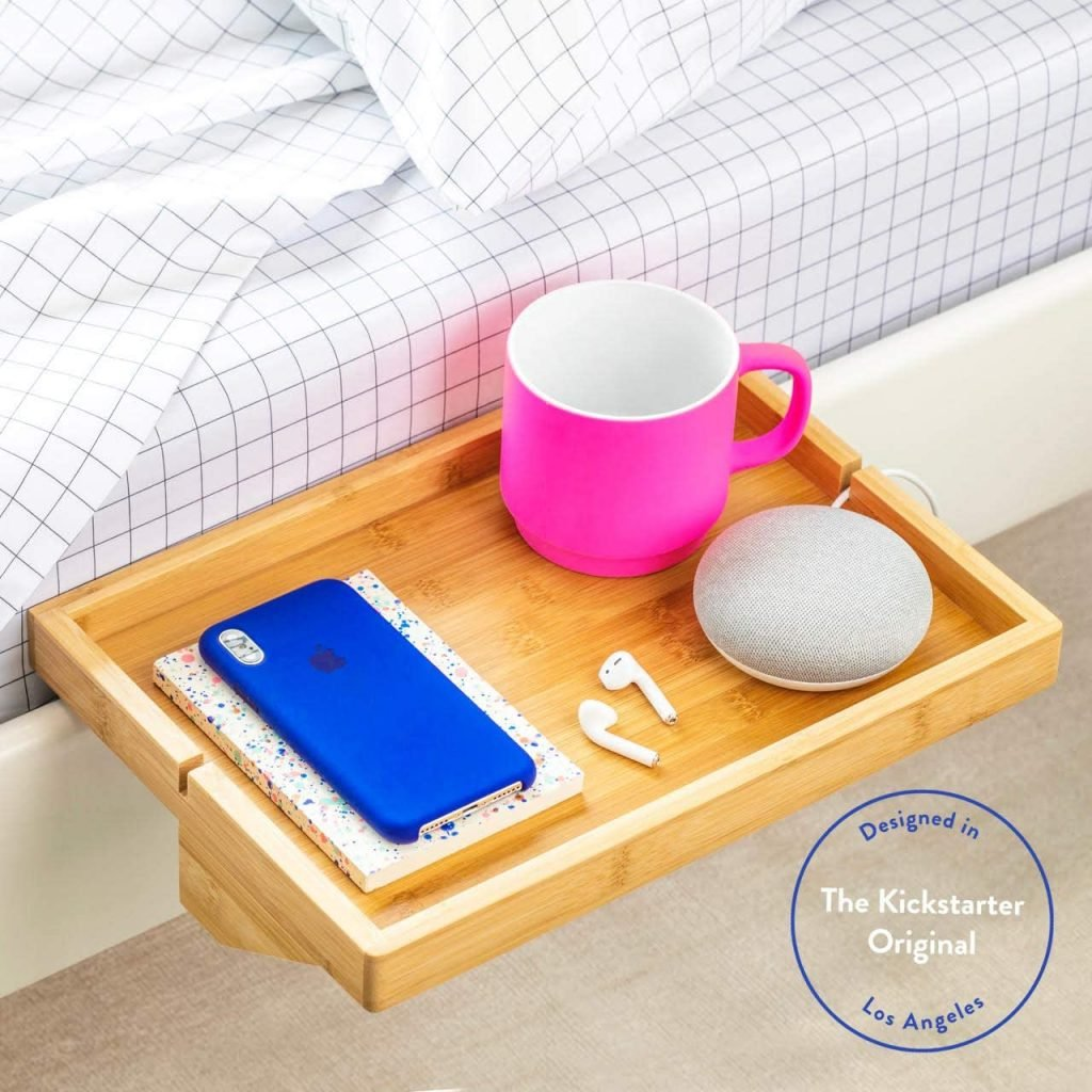 A shelf for your bed