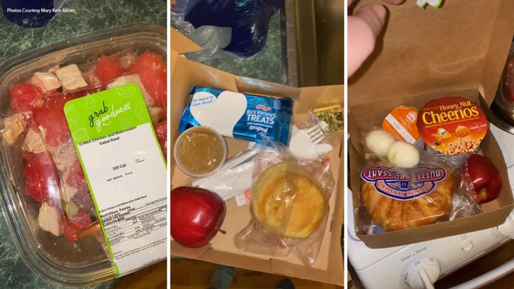 Really sad meals received by NYU students quarantining