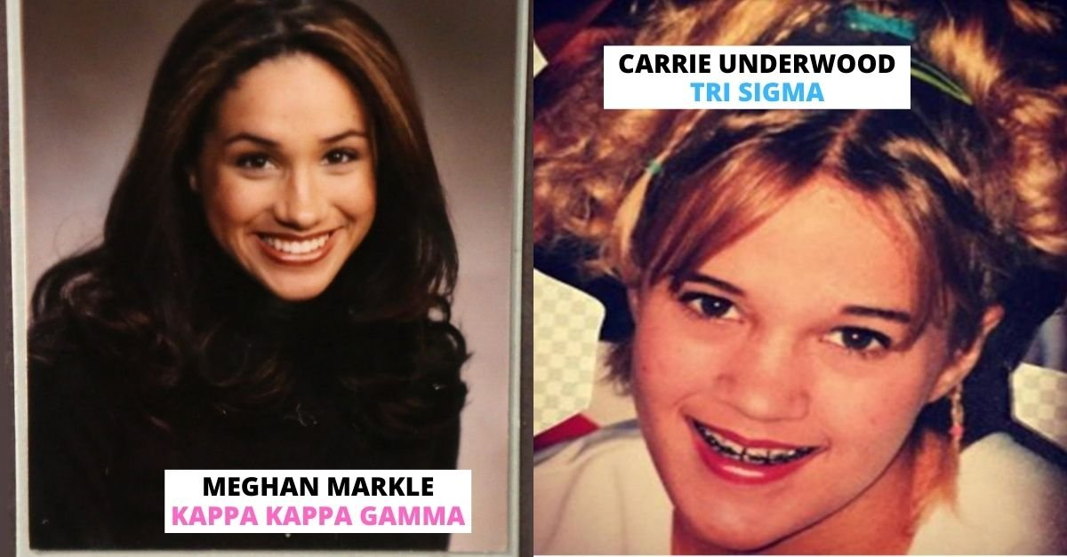 Stunning Photos of Celebs In Sororities and Fraternities