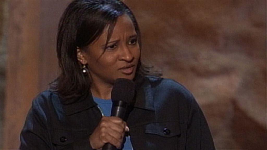Wanda Sykes doing a comedy routine years ago