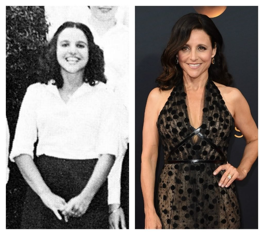Julia Louis Dreyfus in college