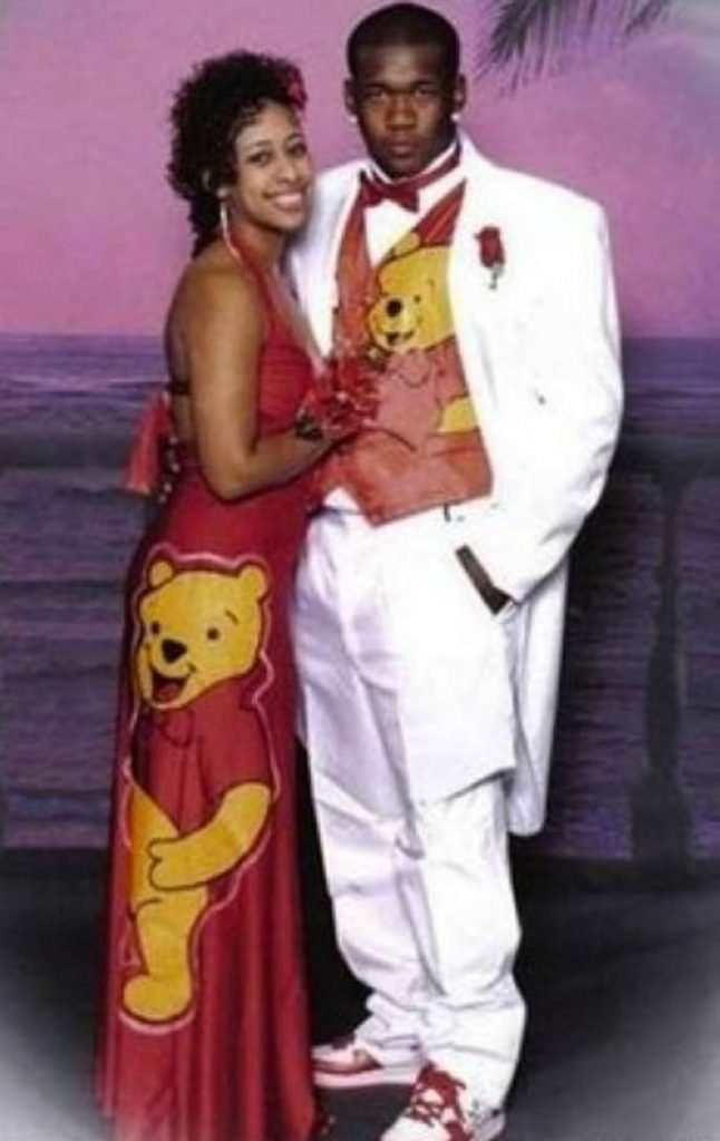 Winnie the Pooh matching prom outfits