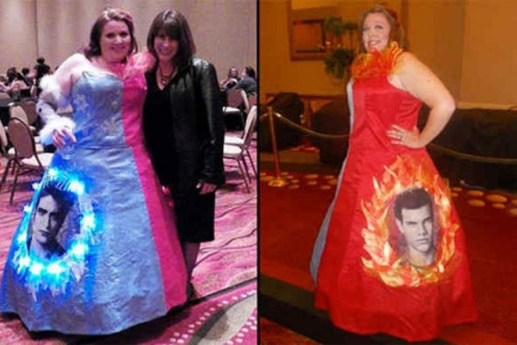 Edward VS Jacob prom dresses