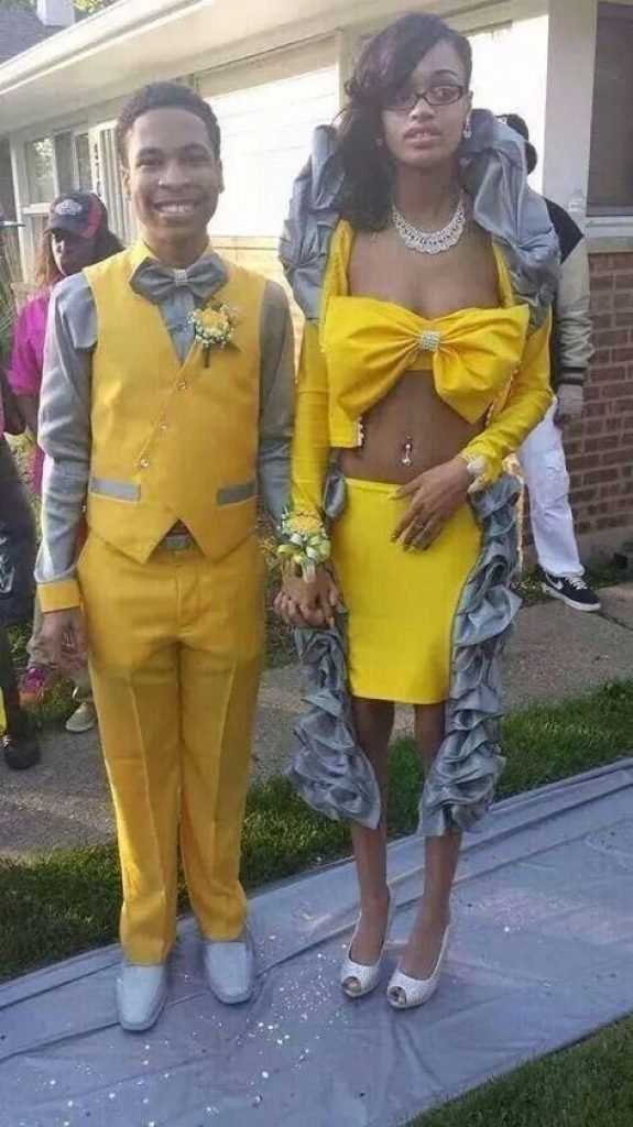 A yellow prom disaster
