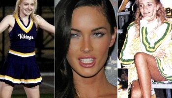 Before They Got Famous, These Celebrities Were Cheerleaders